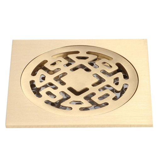 Bathroom Copper Core Floor Drain Shower Drainer Anti Clogging And Odor Floor Strainer