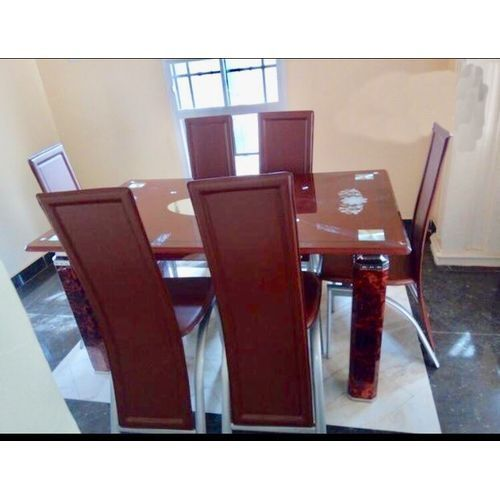 Dining Table + 6 Chairs (Delivery Within Lagos)