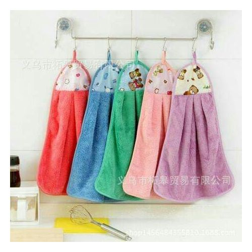 Colourful Patterned Kitchen Towels - Set Of 12