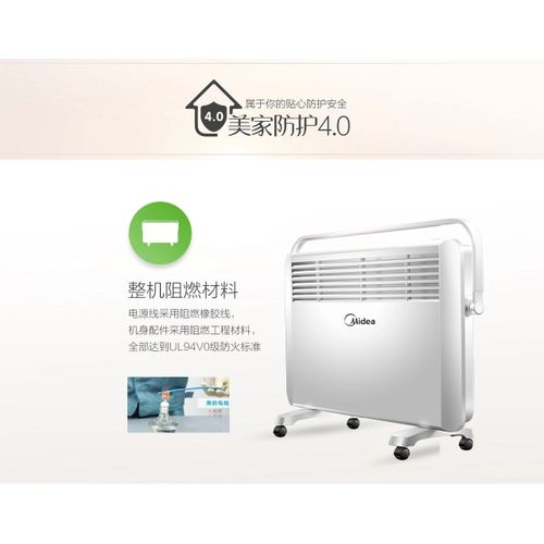 22V Electric Heater Portable Adjustable Thermostat Room Heater EU Plug