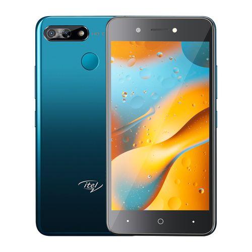 "P15 5.0"" HD Screen, 16GB ROM + 1GB ROM, Android 9 Pie, 5MP + 5MP Camera, 4000mAh Battery, Fingerprint & Face ID - Blue"