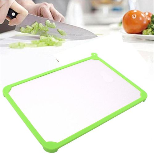 Kitchen Green Defrost Tray Thaw Frozen Food Plate Quick Time Safely Defrosting