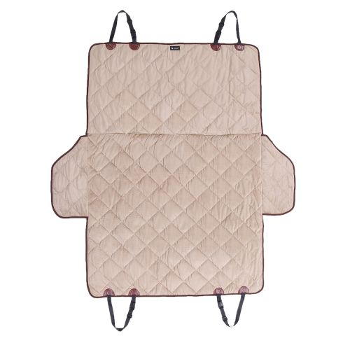 Luxury Water Resistant Non-skid Pet Backseat Trunk Cover