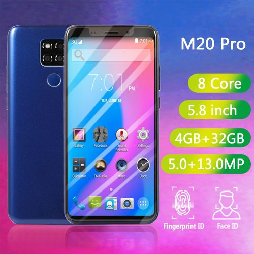 M20 Pro 5.8-Inch(4GB RAM 32GB ROM),Android 8.0,(5MP + 13MP) 4G Smartphone - Blue