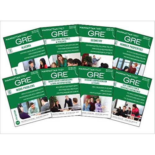 Manhattan Prep GRE Set Of 8 Strategy Guides
