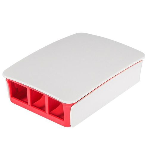 Officaial Box For Raspberry Pi 3 Model B+ Aluminum Case Metal Enclosure White And Red