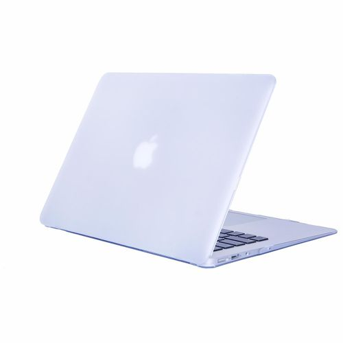 """PC Material Rugged Matte Texture Armor Protective Case Apple MacBook Air 11.6"""" Case / Plastic Hard Case Cover For MacBook Air 11.6 Inch -Transparent"""