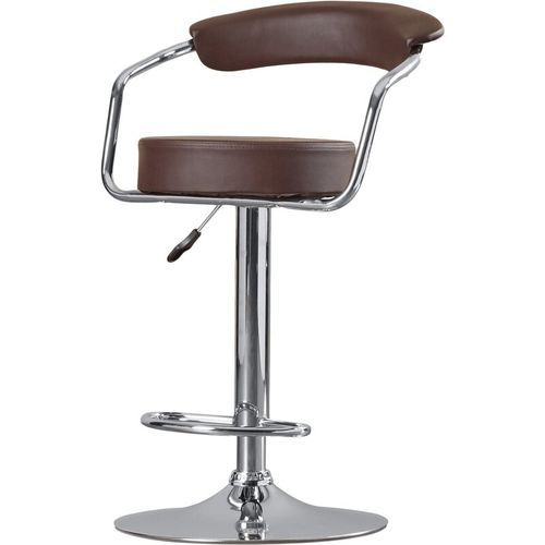 Adjustable Height Swivel Metal Bar Stool