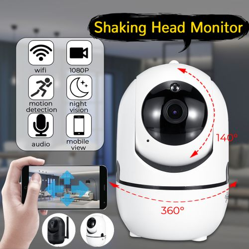 1080P WiFi IP Camera Home Security Baby Monitor Clever Dog