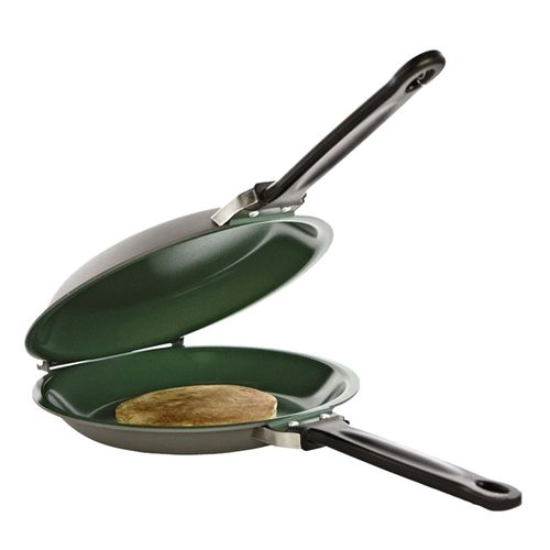 Non-Stick Flip Jack Pan Ceramic Pancake Maker Egg Ring Maker Kitchen