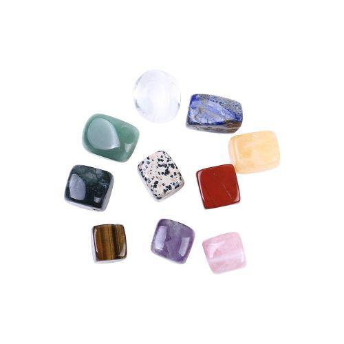 10Pcs Natural Crystal Stone Gemstone Quartz Rock Mineral