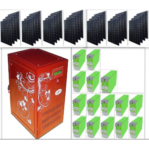 10kva Solar Powered Inverter For Your Schools,hotels,homes.
