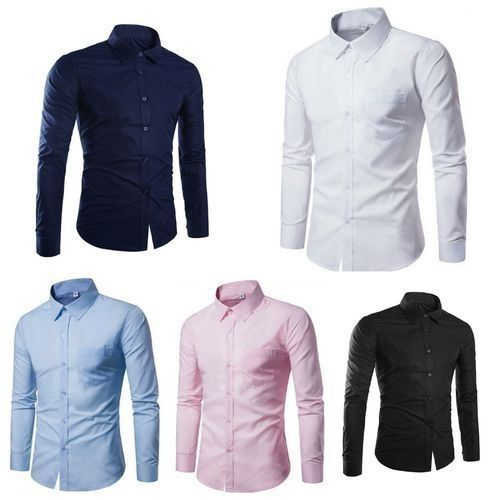 5 Pairs Of Quality And Classy Men Shirts