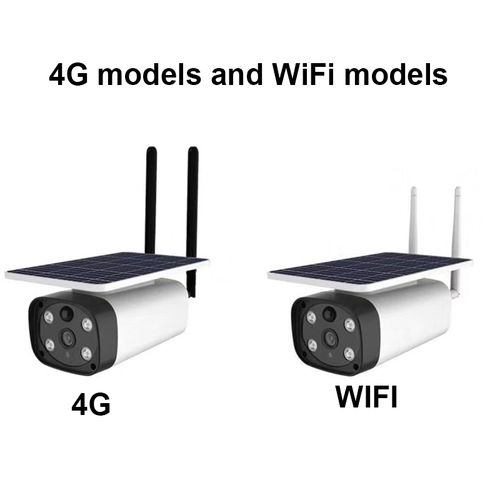 Solar CCTV Security PIR /4G WiFi Camera Outdoor Camera