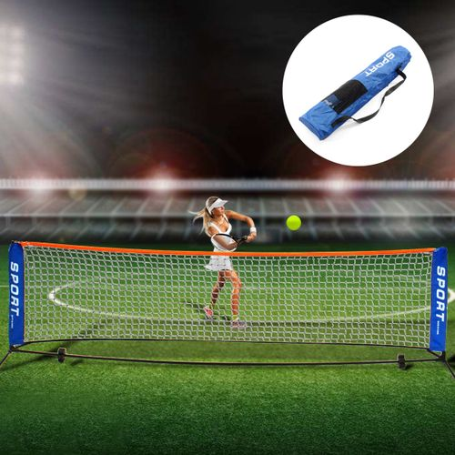 6M/3M Foldable Portable Badminton Net Volleyball Tennis Nets With Frame Stand