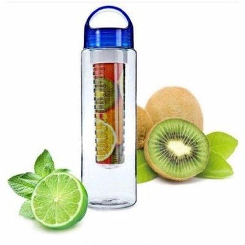 Fruit Infuser Water Bottle - Blue