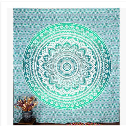 Dtrestocy Indian Mandala Tapestry Hippie Wall Hanging Bohemian Bedspread Home Decor