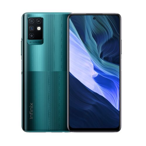 """Note 10 (X693), 6.95"""" FHD, 64GB/4GB Memory, 48 MP Front Camera, 16MP Selfie, Android 11, Fingerprint, 4G - Emerald Green"""