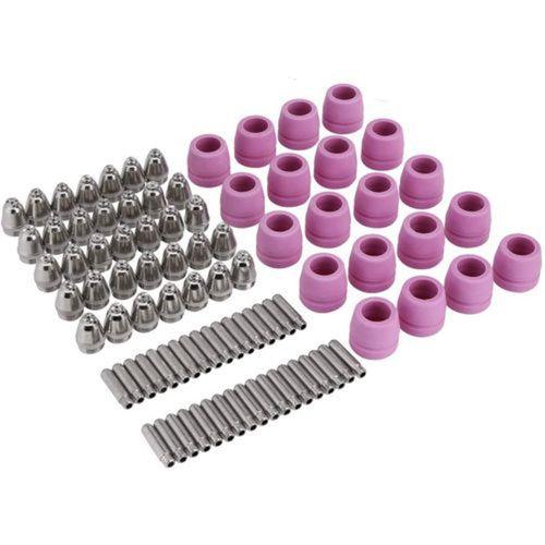 68Pcs AG60 SG55 Plasma Cutter Consumables Nozzle Electrode