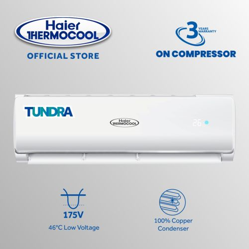 1.5HP Tundra Split Air Conditioner White(Energy Saving)