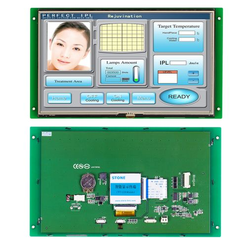 10.1 Inch TFT LCD Display With 65K Color& CPU