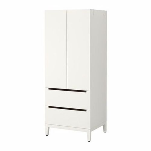 A&S - Ceri Compact Wardrobe - White (Delivery Within Lagos Only)