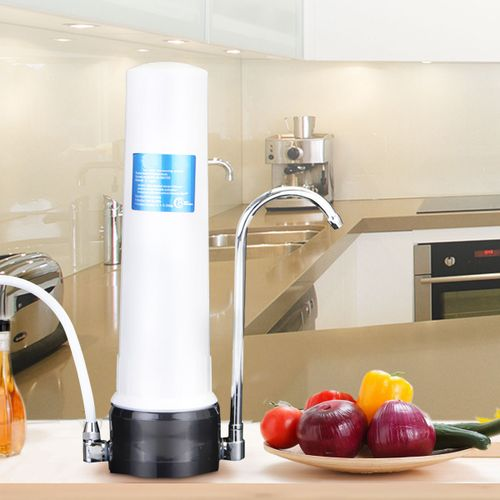 Desk Water Purifier Single Filter Stage Water Purifier Ceramic Combined