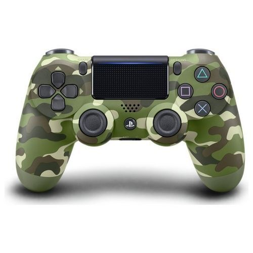 PS4 Controller Pad With Lightbar Touchpad- Dualshock 4 Wireless Controller - Army Green