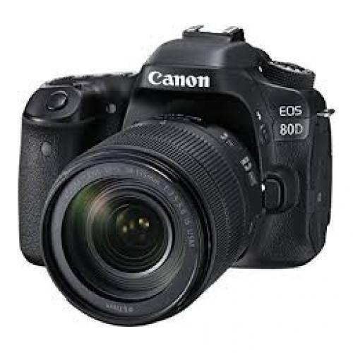 EOS 80D Kit (18-135) Lens Digital Camera
