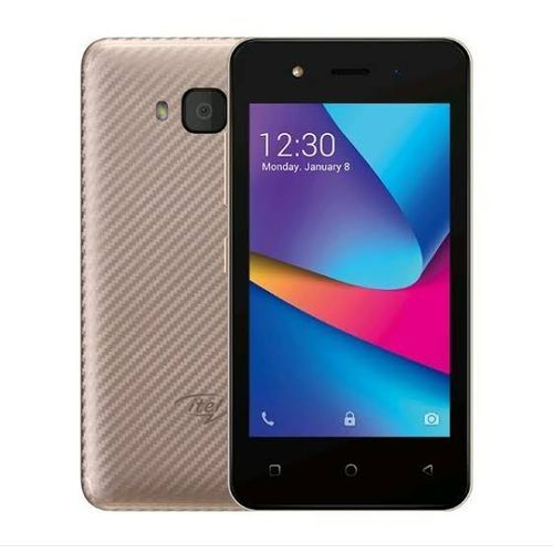 """A14 ,Android 8.1 (GO Edition) - 4"""" Screen - 2.0MPRear+0.3MP Front Camera - (512MB + 8GB ROM) ,1500mAh, Champagne Gold"""