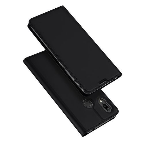 For HW Y7 Prime 2019 Phone Case DUX DUCIS Flip PU Leather Case For Huawei Luxury Wallet Cover Phonecase-Black