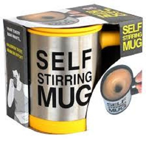 Self Stirring Mug Tea Coffee