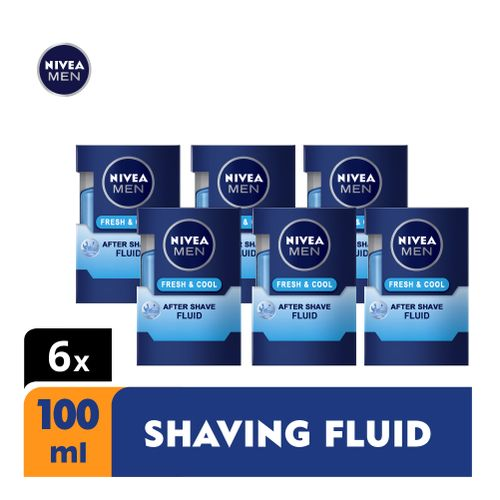 Fresh & Cool After Shave Fluid For Men - 100ml (Pack Of 6)