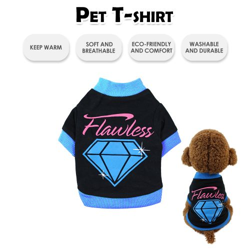 Pet Shirts Dog T-Shirts Printed Pet Clothes Pet Spring