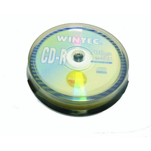 WINTEC CD-R CAKE BOX 1X10