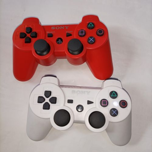 PS3 Wireless Pad - Red And White