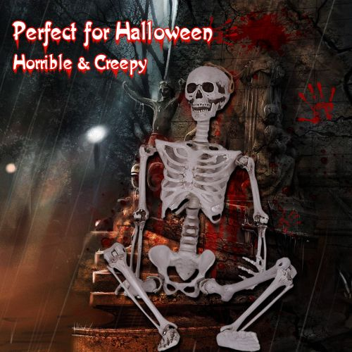 Halloween Prop Creepy Skull Party Supplies Soul House