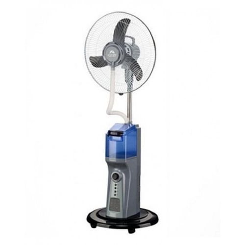 16'' Rechargeable Mist Fan With Solar Port+usb Function+FREE USB CABLE