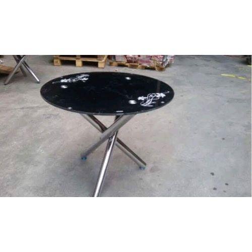 Round Dinning Table - Black