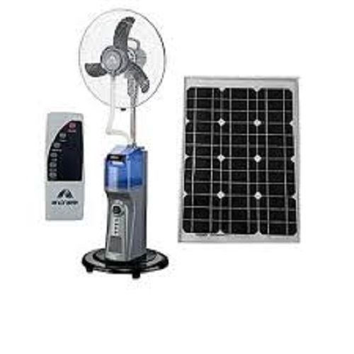 Rechargeable Mist Fan With Remote Control With 20Watts Solar Panel