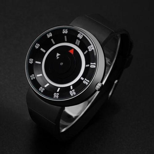 Meibaol StoreFashion Men's Luxury Concept Stainless Steel Analog Quartz Sport Wrist Watch BK