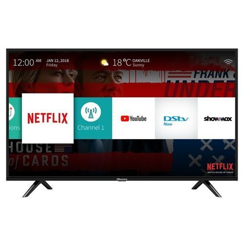 Hisense 50''Smart UHD 4K TV+Netflix,Youtube & DSTV Now APP-50B7100UW