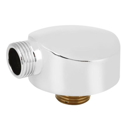 G1/2 Brass Round Shape Shower Hose Outlet Connector Bathroom Showering Accessories