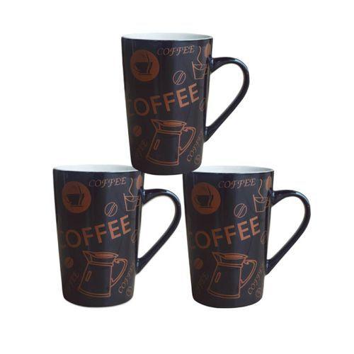 Set Of 3 Coffee Mugs