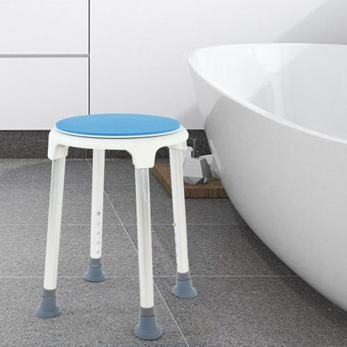 360 Degree Rotating Non-slip Bath Stool Bath Shower Seat For Elderly/Pregnant Woman