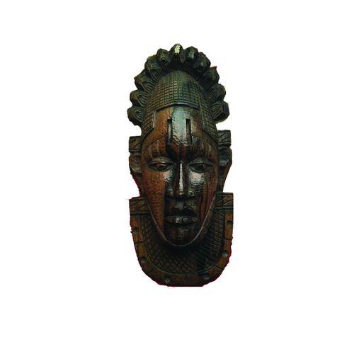 Festac 77 Mask Queen Idia Mask Benin Kingdom