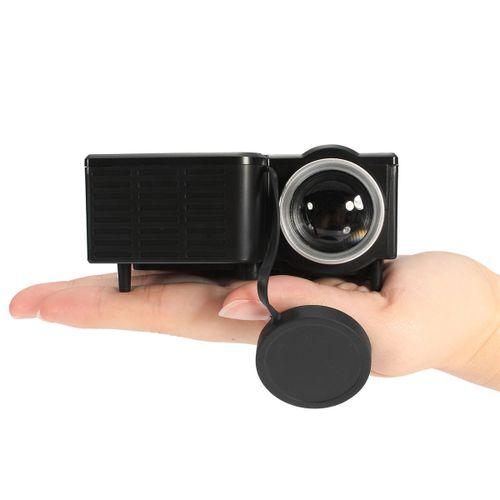 Micro UC28B Mini Multimedia LED Projector Home Cinema-Black