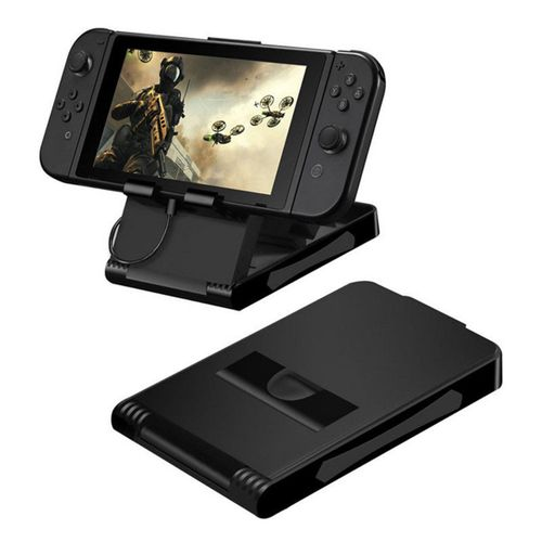 Black Stand Display Dock Bracket Holder Mount For Nintendo Switch Game Console