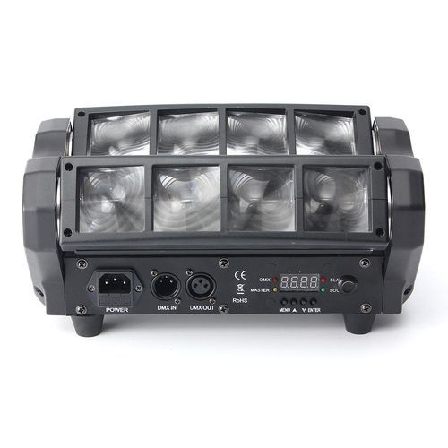 90W RGBW 4 IN 1 DMX512 LED Spider Beam Moving Head Stage Lighting DJ Party Disco UK Plug