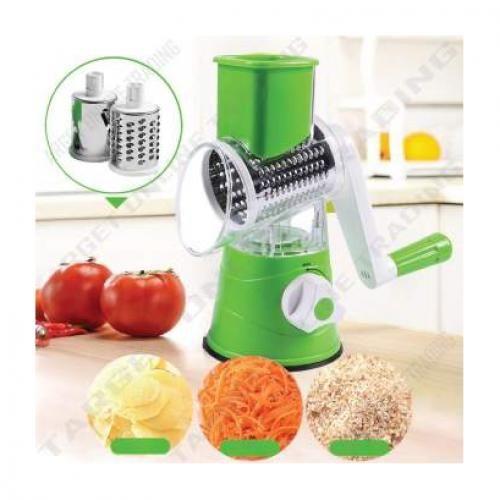 Multifunctional Manual Vegetable Cutter, Slicer , Drum Grater
